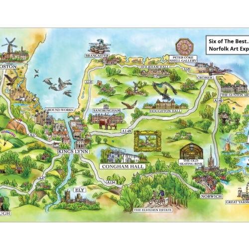 Art Trail Map