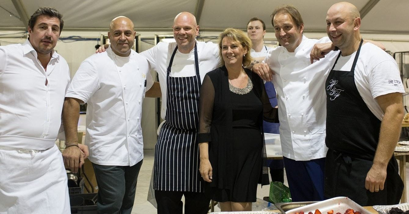 Michelin-starred chefs descend on Congham