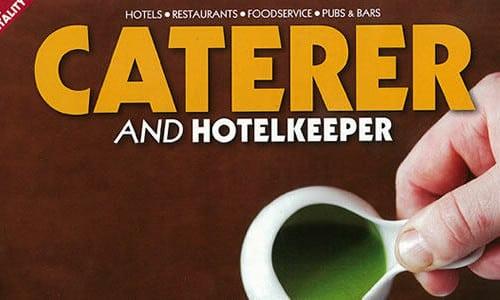 The Caterer and Hotelkeeper interviews Nicholas Dickinson