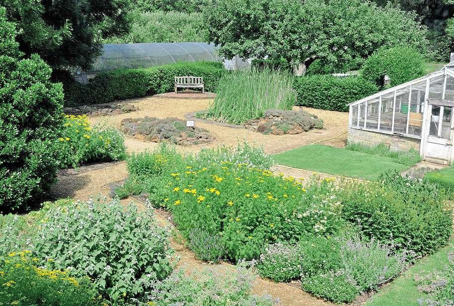 congham hall garden