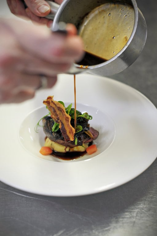 classic chef dishes with a twist finished to perfection