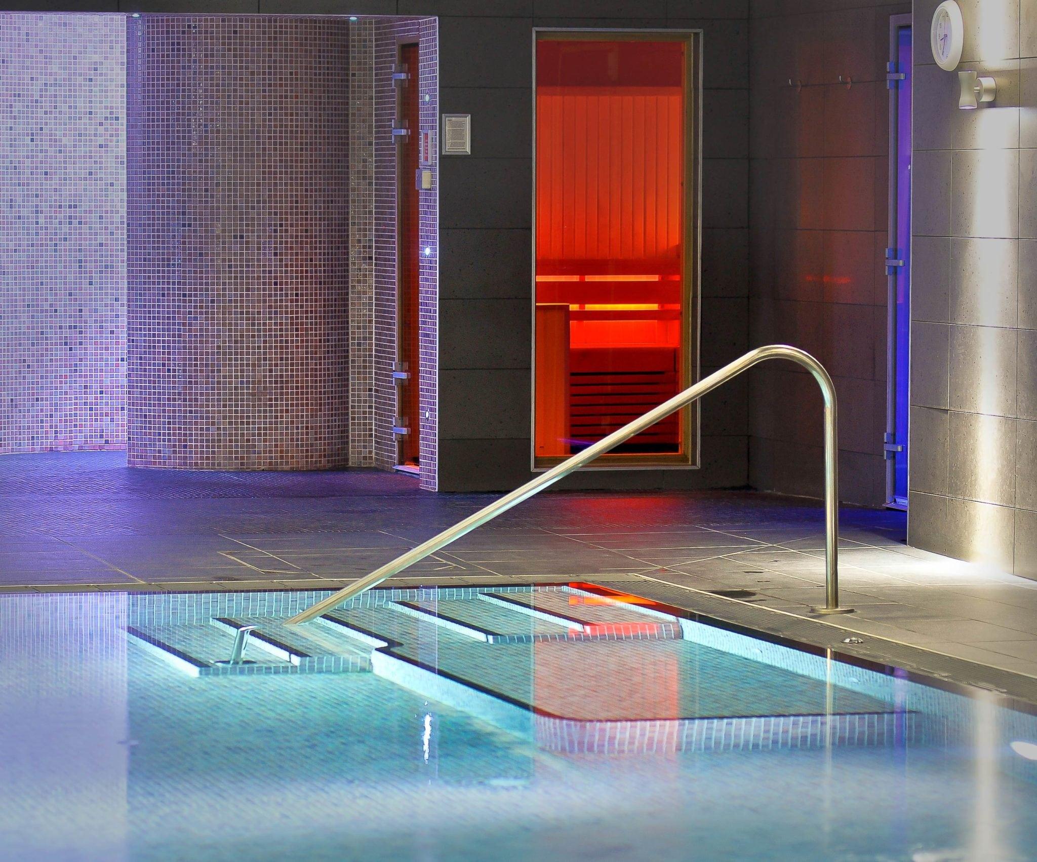 Luxury Pool and Sauna