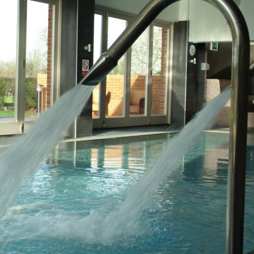 water cannons spa open day at congham hall hotel and spa