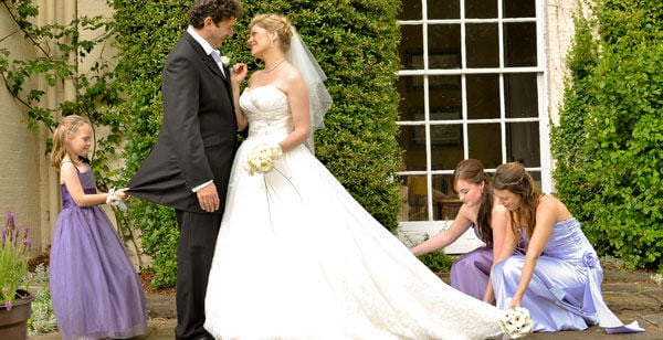 the perfect wedding at Congham Hall hotel and spa