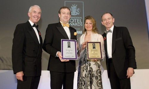 winner of best small hotel uk 2012 2013